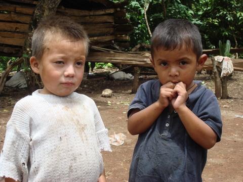 Children in Lepaterique, Honduras