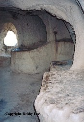 Inside Monks Village Home Cappadocia Turkey