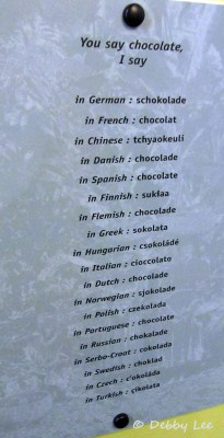 Choco Musee Erico 19 Languages