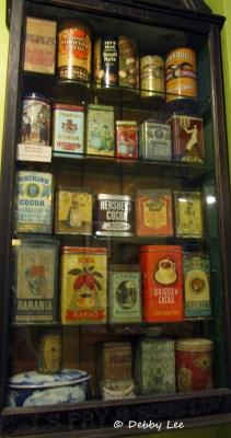 Choco Musee Erico Tin Can Cocoa Display