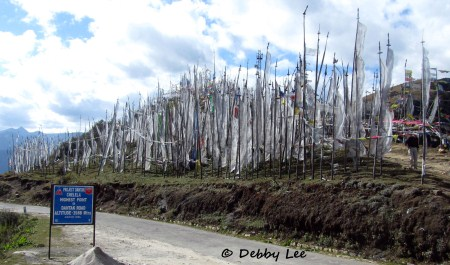 Prayer Flags Chelela Bhutan