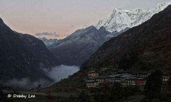 Laya Bhutan Masang Gang Morning View