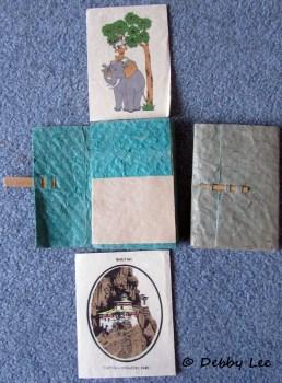 Bhutanese Handmade Paper Cards Notebooks