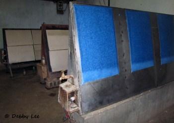 Bhutanese Handmade Paper Drying