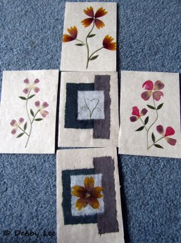 Bhutanese Handmade Paper Greeting Cards
