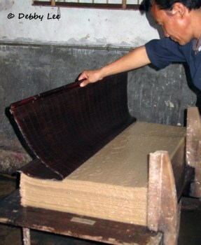 Bhutanese Handmade Paper Pile2