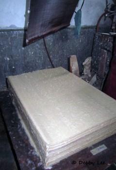 Bhutanese Handmade Paper Pile3