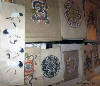 Bhutanese Handmade Paper Scrolls