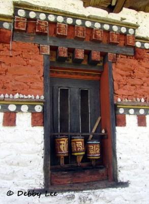 Bhutanese Prayer Wheels for All Sentient Beings - Debby's