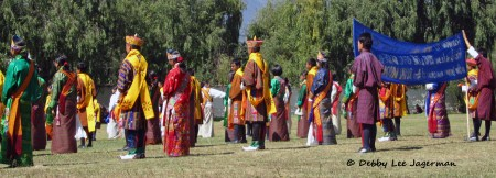 Bhutan King Queen Wedding Dancing Singing