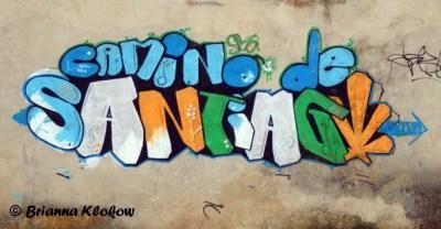 Camino de Santiago Graffiti