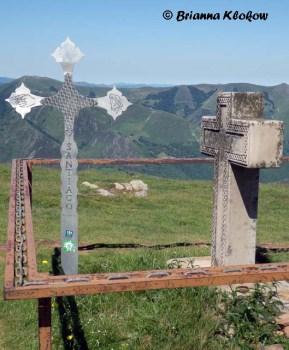 El Camino de Santiago Crosses