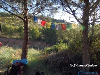 El Camino de Santiago Prayer Flags