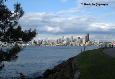 Alki Beach View of Seattle