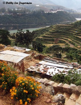 Bhutan Wandguephodrang Dzong