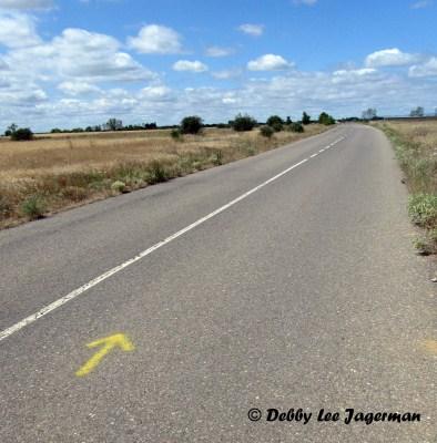 Camino de Santiago Yellow Arrows