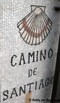 Camino de Santiago Scallop Shells Mosaics