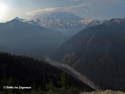 Mt Rainier Northern Loop Valley River