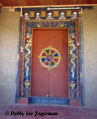 Bhutan Windows and Doors Dharmachakra