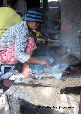 Rice Paper for Spring Rolls Pheam Ek Cambodia