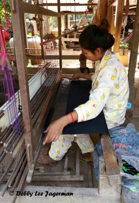 Silk Weaving Silk Island Cambodia