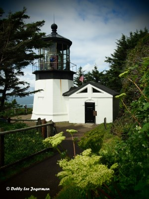 Cape Meares Lighthouse Oregon Coast