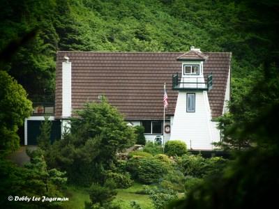 Cleft of the Rock Lighthouse Oregon Coast