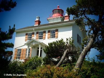 Yaquina Bay Lighthouse Oregon Coast