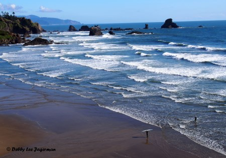 Indian Beach near Ecola State Park - Oregon Coast