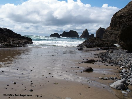 Second Beach & Three Arch Rocks - Oregon Coast