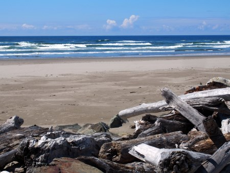 Bullards Beach near Coquille River Lighthouse - Oregon Coast