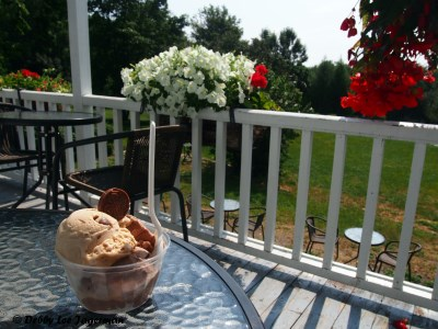 Chocolaterie de l'Ile d'Orleans Ice Cream