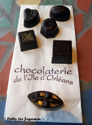 Chocolaterie de l'Ile d'Orleans Small Chocolates Samples