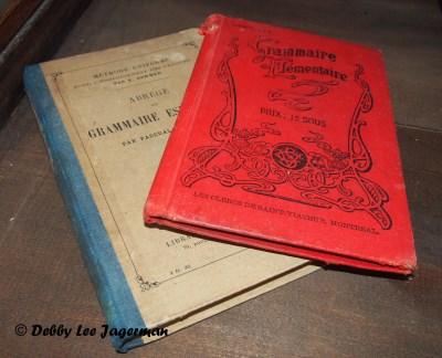 Confiserie de la Vieille Ecole Ile d'Orleans School Books