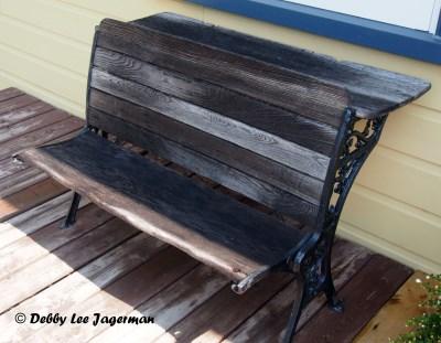 Confiserie de la Vieille Ecole Ile d'Orleans School Desk