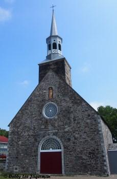 Saint Francois Church Front Ile d'Orleans
