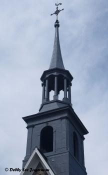 Saint Pierre Church Steeple Ile d'Orleans