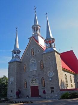 Sainte Famille Church Front Ile d'Orleans