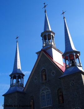 Sainte Famille Church Steeples Ile d'Orleans