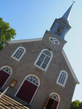 Sainte Petronille Church Front Ile d'Orleans