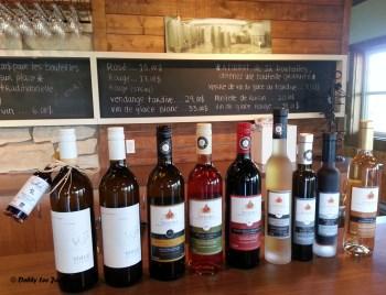 Vignoble Sainte Petronille Wine Tasting Ile d'Orleans
