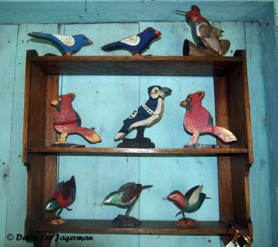 A l'Ombre du Vent Ile d'Orleans Folk Art Birds