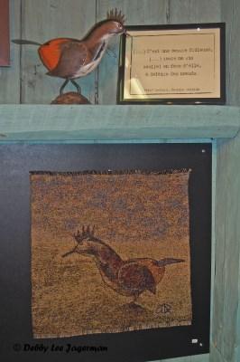 A l'Ombre du Vent Ile d'Orleans Textile Weaving Art Partridge