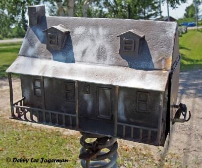 Ile d'Orleans Mailboxes Home Porch