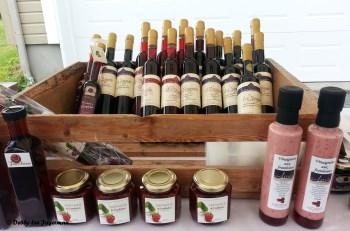 Le Ferme de Liz Ouellet Ile d'Orleans Raspberries