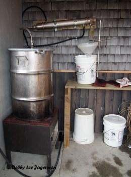 Seigneurie de l'ile d'Orleans Lavender Distillation Process
