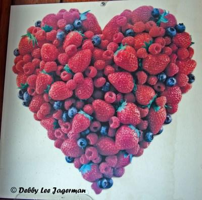 Strawberries Heart Ile d'Orleans