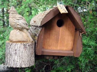 L'Art au Jardin Ile d'Orleans Birdhouse