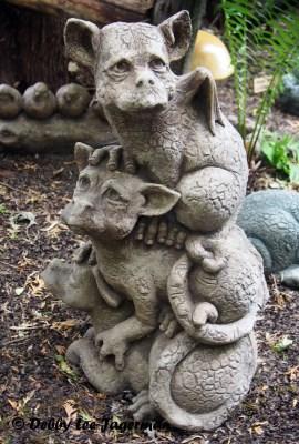 L'Art au Jardin Ile d'Orleans Dragons