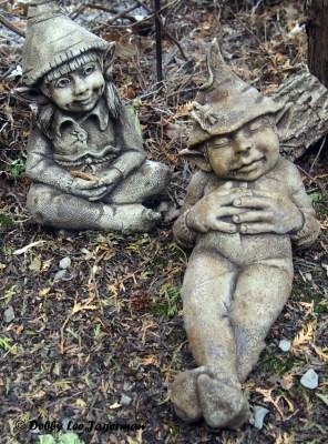 L'Art au Jardin Ile d'Orleans Elves